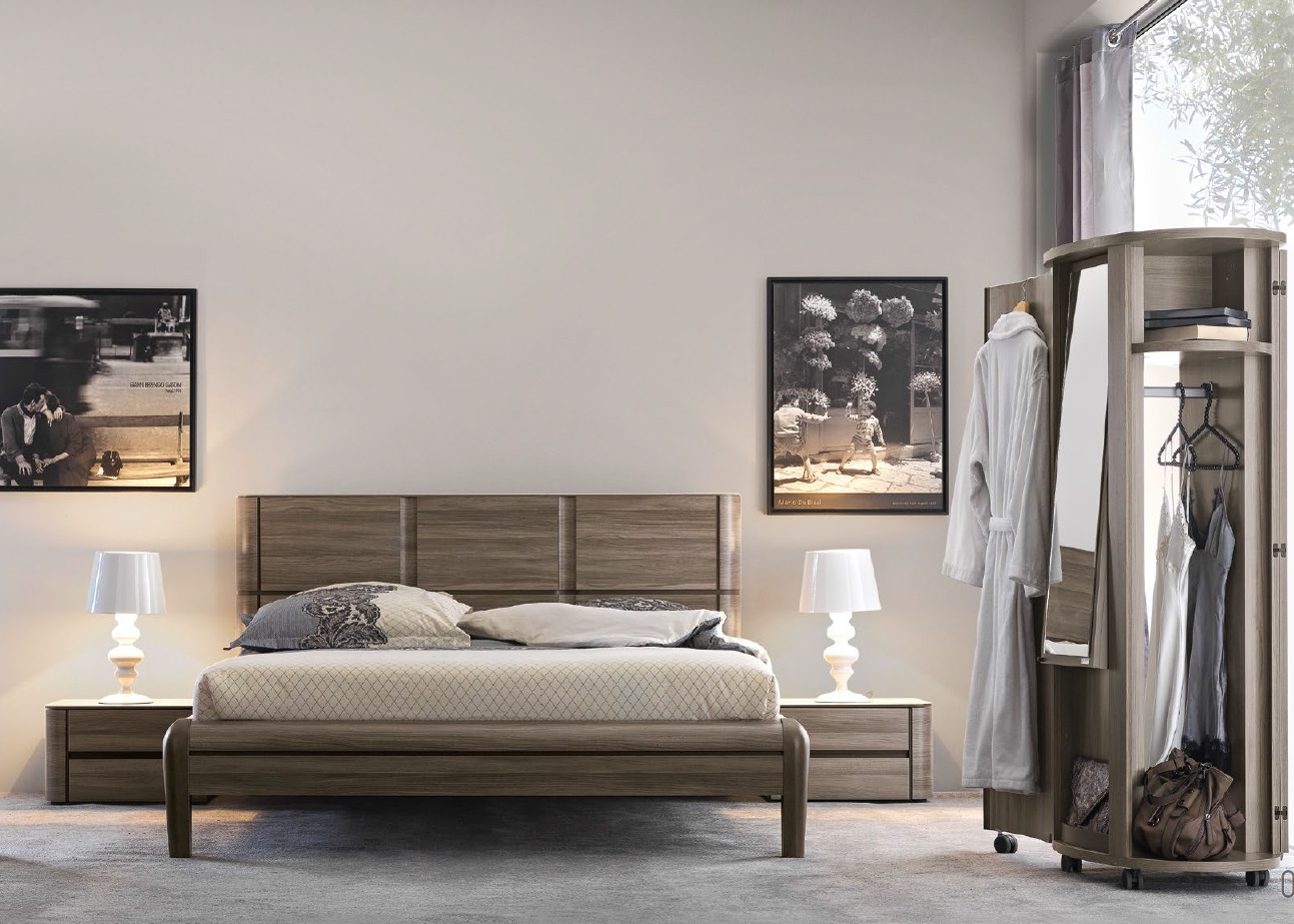 chambre contemporaine dovea des meubles gautier vente. Black Bedroom Furniture Sets. Home Design Ideas